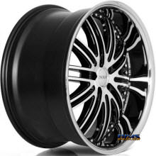 XIX Wheels - X23 - Black Gloss w/ Machined