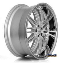 XIX Wheels - X23 - Machined W/ Silver
