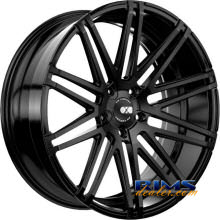 XO LUXURY WHEELS - MILAN - black flat