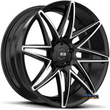 XO LUXURY WHEELS - DUBAI - black flat