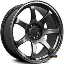 XXR - 551 - black chrome