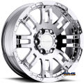 Vision Wheel - Warrior 375 - chrome
