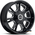 Vision Wheel - 3992 Storm - black chrome