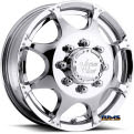 Vision Wheel - Crazy Eightz 715 - chrome