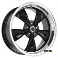 AMERICAN RACING - AR105 Torq Thrust M - Black Gloss w/ Machined