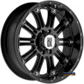 KMC XD Off-Road - XD795 Hoss - Black Gloss