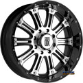 KMC XD Off-Road - XD795 Hoss - Black Gloss w/ Machined