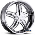 Vision Wheel - Milanni Force 457 - chrome