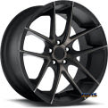 Targa M130 - black flat w^ machined
