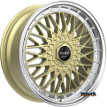 RUFF RACING - R957 - gold w/ machined