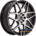 Ruff Racing - R351 - black flat w/ machined