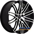 Ruff Racing - R955 - black flat w/ machined