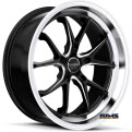 RUFF RACING - R958 (Milled Spokes) - Machined w/ Black