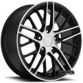 Vision Wheel - Sport Concepts 862 - black flat