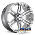 Tuff A.T Wheels - T01 - chrome