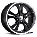 Vision Wheel - Shockwave 539 - black flat