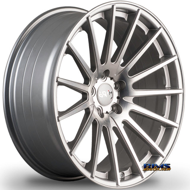Pictures for Miro Wheels TYPE 110 machined w/ silver
