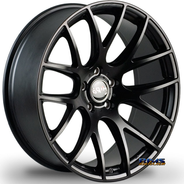 Pictures for Miro Wheels TYPE 111 black flat