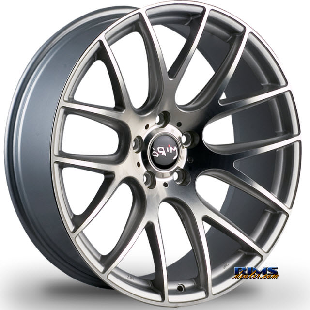 Pictures for Miro Wheels TYPE 111 machined w/ silver