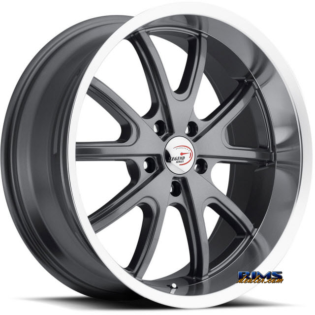 Pictures for Vision Wheel Torque 143 gunmetal flat