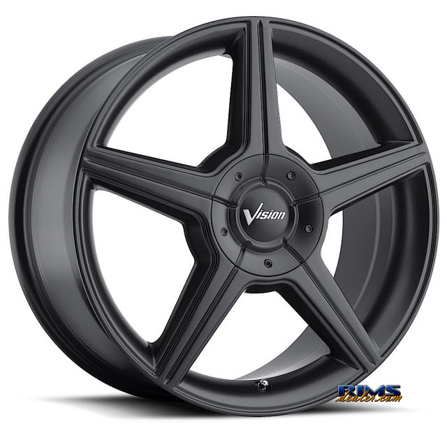 Pictures for Vision Wheel Autobahn 168 black flat