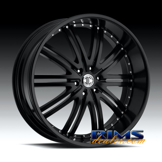 Pictures for 2Crave Rims No.11 black flat