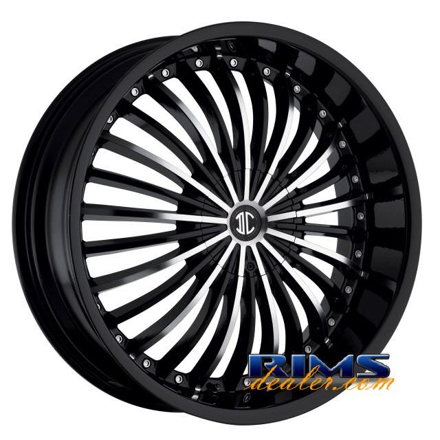 Pictures for 2Crave Rims No.13 machined w/ black