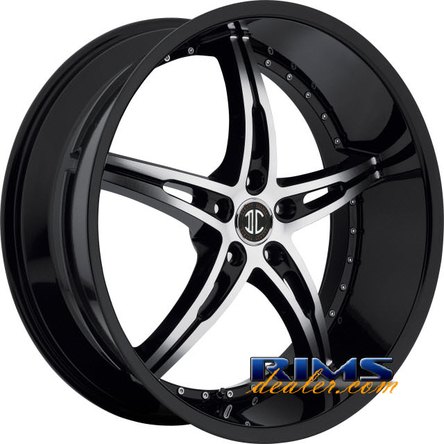 Pictures for 2Crave Rims No.14 machined w/ black