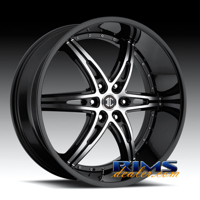 Pictures for 2Crave Rims No.16 machined w/ black