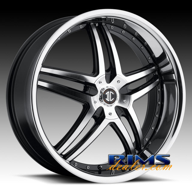 Pictures for 2Crave Rims No.17 machined w/ black chrome