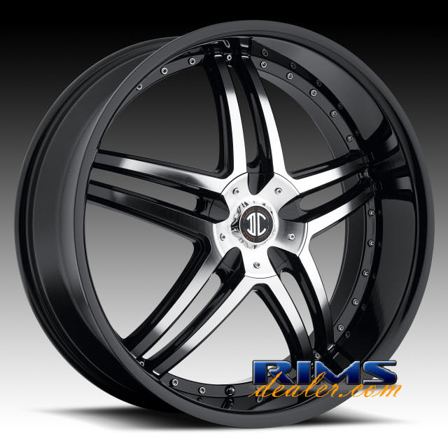 Pictures for 2Crave Rims No.17 machined w/ black