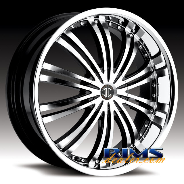 Pictures for 2Crave Rims No.1 machined w/ black chrome