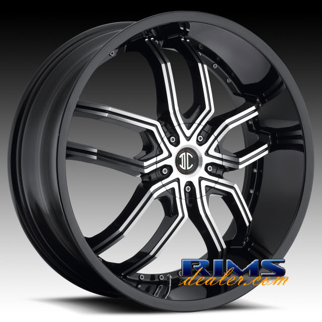 Pictures for 2Crave Rims No.20 machined w/ black