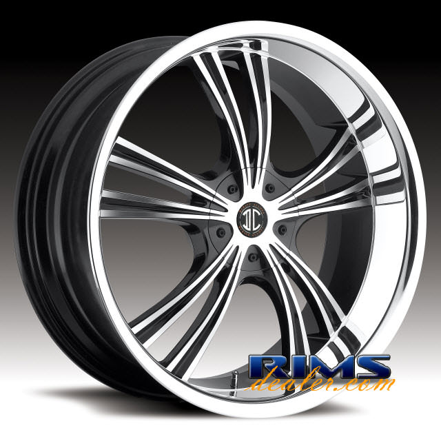 Pictures for 2Crave Rims No.2 machined w/ black chrome