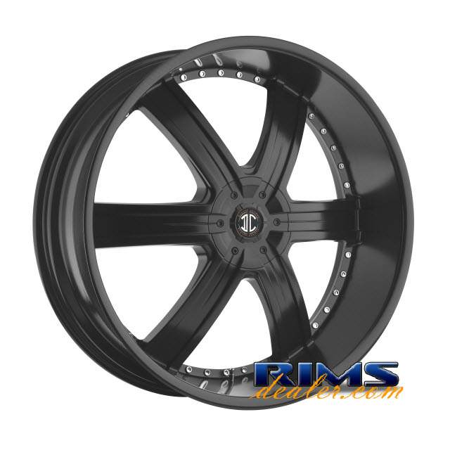 Pictures for 2Crave Rims No.4 black flat