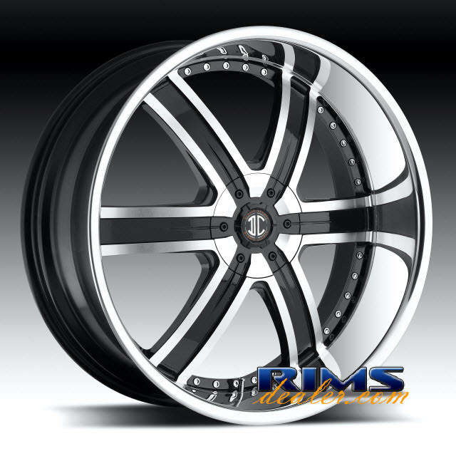 Pictures for 2Crave Rims No.4 machined w/ black chrome
