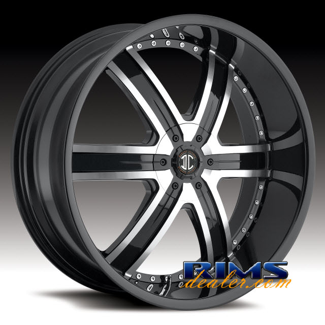 Pictures for 2Crave Rims No.4 machined w/ black
