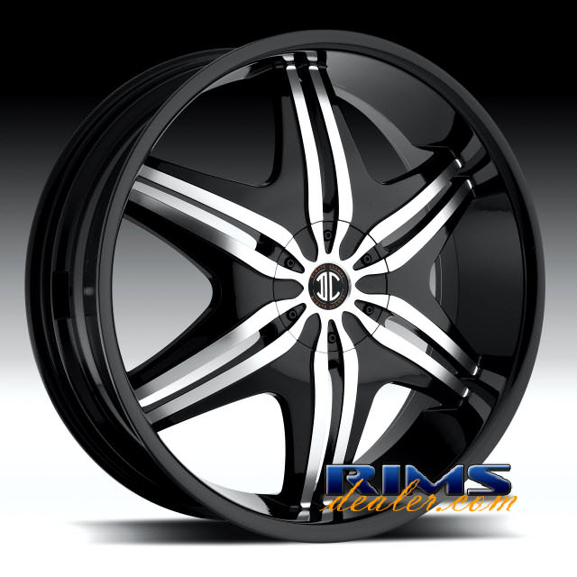 Pictures for 2Crave Rims No.6 machined w/ black
