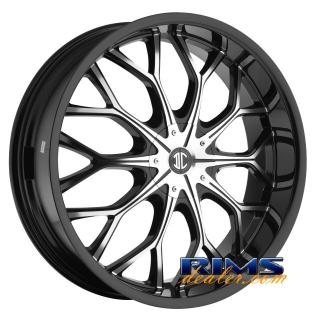 Pictures for 2Crave Rims No.9 machined w/ black
