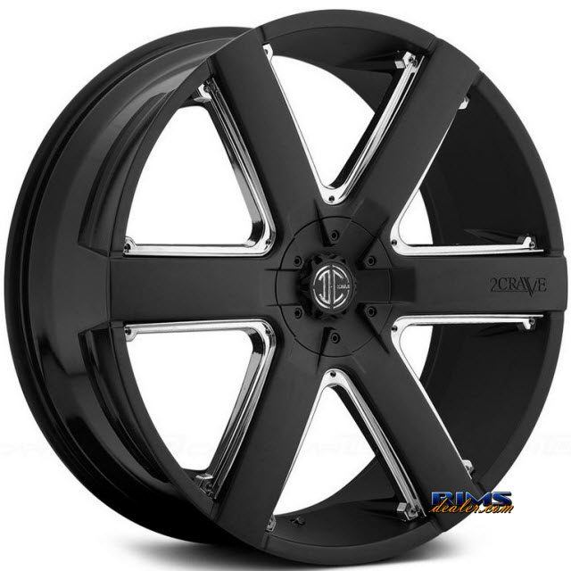 Pictures for 2Crave Rims No.31 Black Flat