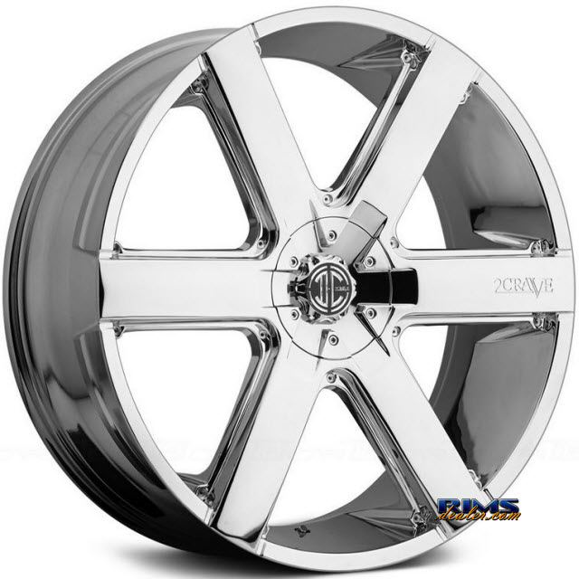 Pictures for 2Crave Rims No.31 Chrome