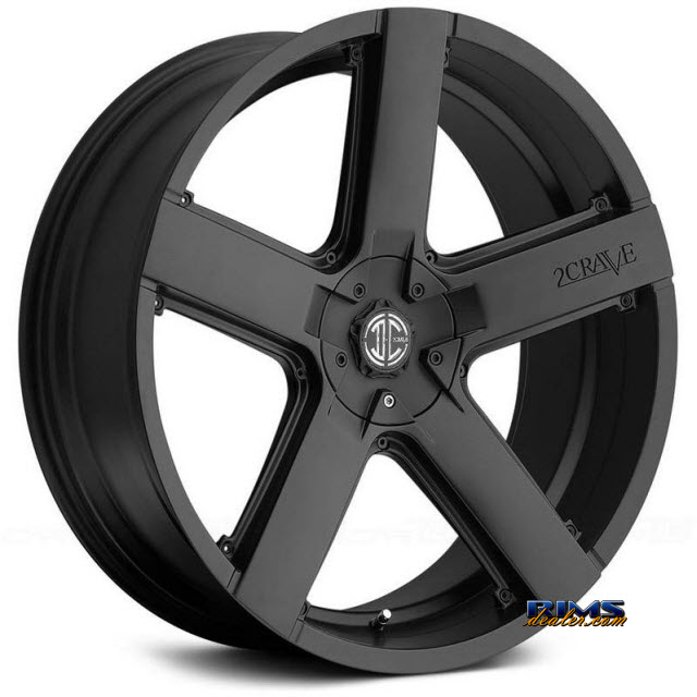 Pictures for 2Crave Rims No.35 Black Flat