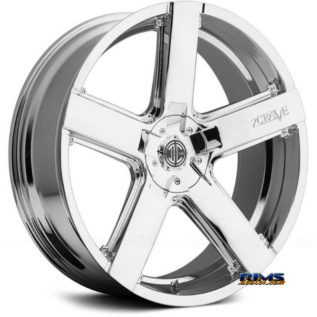 Pictures for 2Crave Rims No.35 Chrome