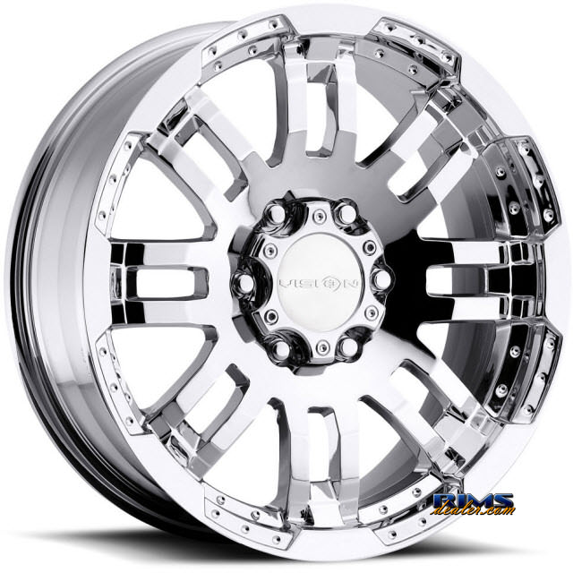 Pictures for Vision Wheel Warrior 375 chrome