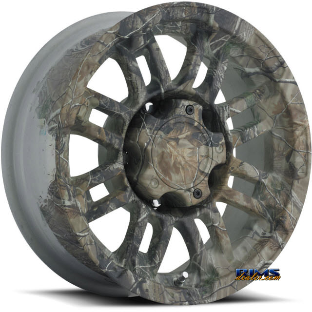 Pictures for Vision Wheel Warrior 375 Camo green