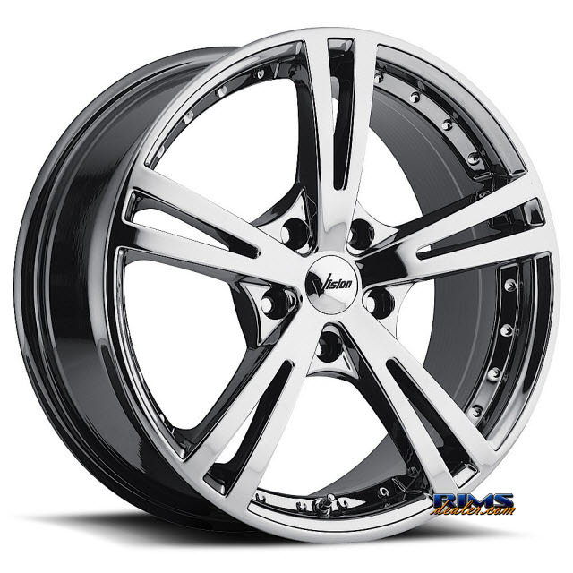Pictures for Vision Wheel Xcite 463 chrome