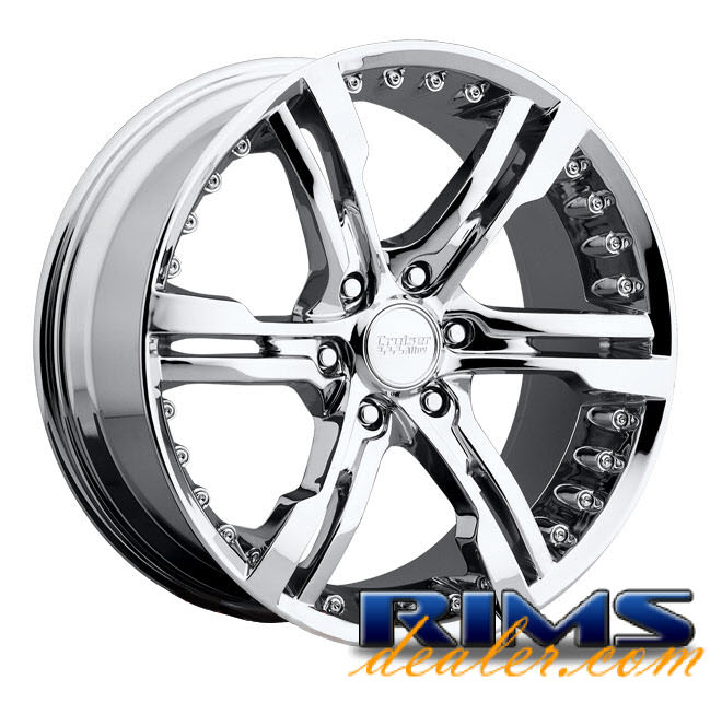 CRUISER ALLOY Switchblade 904C (6-Lug) Chrome