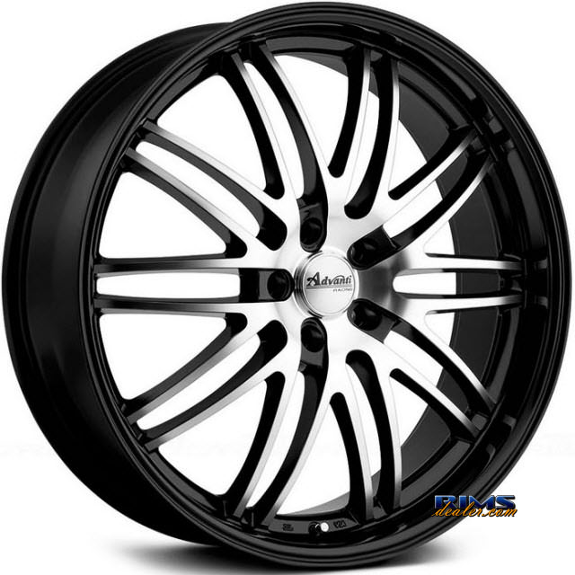 Pictures for Advanti Racing 69MB Prodigo Black Gloss w/ Machined