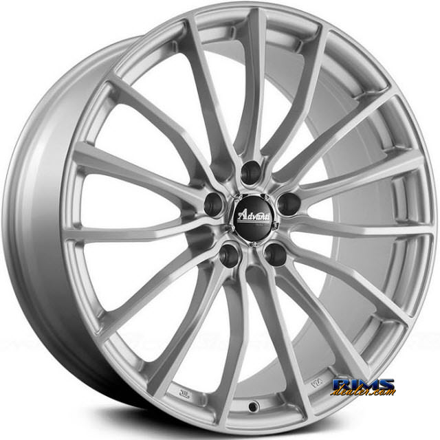Pictures for Advanti Racing 72S Lupo Silver Flat