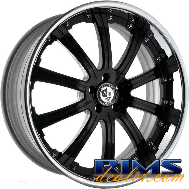 Pictures for AM FORGED Majestic 2.0 black gloss